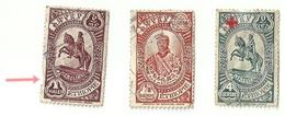 """3959 """" ETIOPIA-FAMIGLIA REALE-1931(1/8 GUERCHE + 1 THALER) + RED CROS 1936 """"  MATERIALE ORIGINALE - Etiopia"""