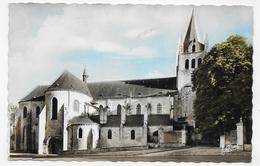 MEUNG SUR LOIRE EN 1964 - N° 6.204 - L' EGLISE SAINT LIPHARD - FORMAT CPA VOYAGEE - Other Municipalities