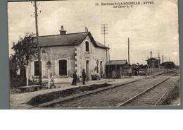Cpa 17 Environs De La Rochelle Aytré La Gare L.C 20 - La Rochelle