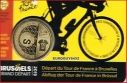 Belgie 2019   2,50 Euro  Départ Du Tour De France     Version Français     In Coincart   Extreme Rare !!! - Belgique
