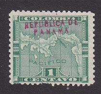 Panama, Scott #51, Mint No Gum, Map Overprinted, Issued 1903 - Panama