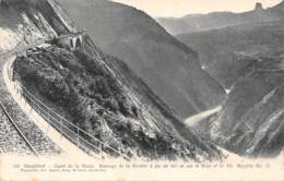 38 - Ligne De LA MURE - Passage De La Rivoire à Pic De 300 M Sur Le Drac Et Le Mt. Aiguille NO. II - La Mure