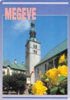 CPM - 74 - MEGEVE - La Place De L'Eglise - Megève