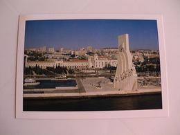 Postcard Postal Portugal Lisboa Padrão Dos Descobrimentos Praça Do Império E Mosteiro Dos Jerónimos - Lisboa