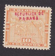Panama, Scott #54, Mint Hinged, Map Overprinted, Issued 1903 - Panama