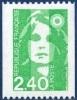 2823  Type Marianne Du Bicentenaire De Roulette TVP Vert  Neuf ** 1993 + - Frankreich