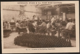 Postal Portugal - Vila Nova Gaia - Gonzalez, Byass & Cº Port Wine Shippers - A Section Of The Bottling Department - Porto