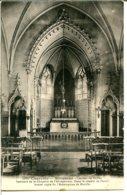 16700 BIOUSSAC (l'éditeur A Indiqué Rioussac) - Intérieur De La Chapelle - Canton De Ruffec - France