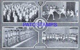 113019 ARGENTINA BUENOS AIRES PASEO COLON 161 CLUB YMCA SPORTS MULTI VIEW BREAK POSTAL POSTCARD - Argentinien