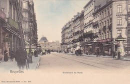 BRUXELLES. BOULEVARD DU NORD. NELS. CPA CIRCA 1904s - BLEUP - Multi-vues, Vues Panoramiques