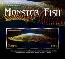 Guyana 2018 Fauna  Monster Fish  I201901 - Guiana (1966-...)
