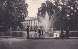 BRUXELLES. PALAIS DE LA NATION. NELS. VINTAGE OLD VIEW. CPA CIRCA 1904s - BLEUP - Panoramische Zichten, Meerdere Zichten