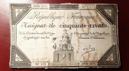 ASSIGNAT DE DEUX CINQUANTE LIVRES 250 LIVRES MONNAIE BILLET PHOTO RECTO-VERSO NUMISMATIQUE - Assignats & Mandats Territoriaux