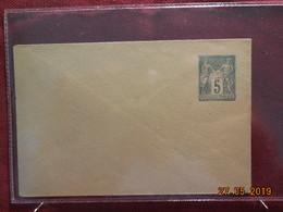 Entier Postal Sur Lettre Au Type Sage - Cartes Postales Types Et TSC (avant 1995)