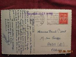 Carte De 1955 à Destination De Paris (occupation Francaise En Allemagne) SP 56.733 - Civil Frank Covers
