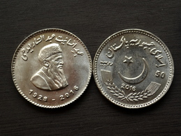 Pakistan 50 Rupees (Pakistani Philanthropist Abdul Sattar Edhi) 2017 Km78 COIN CURRENCY - Pakistan