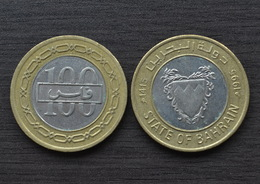 Bahrain 100 Fils Km20 COIN MIDDLE EAST CURRENCY - Bahrein