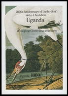 Uganda 1985 - Mi-Nr. Block 54 ** - MNH - Vögel / Birds - Audubon - Uganda (1962-...)