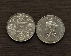 BHUTAN 1/2 ½ Rupee (magnetic) Km26 Asia COIN ASIAN CURRENCY - Bhutan