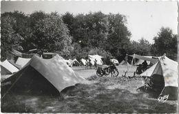 Fort-Mahon (Somme) Le Camp Des Campeurs, Tentes, Moto - Edition Artaud, Carte Gaby N° 20 - Fort Mahon