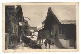 SUISSE Strasse In ADELBODEN CPA Carte Postale Ancienne - BE Berne