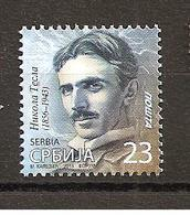 SERBIA 2019,NIKOLA TESLA,,DEFINITIVE STAMPS,ENERGY,SCIENCE,MNH - Electricity