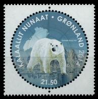 Grönland 2014 - Mi-Nr. 680 ** - MNH - Eisbär / Polar Bear - Grönland