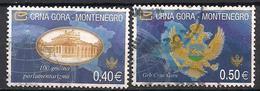 Montenegro  (2005)  Mi.Nr.  101 I + 102 I  Gest. / Used  (6ba14) - Montenegro
