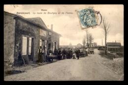55 - BARONCOURT - CAFE SUR LA ROUTE DE BOULIGNY ET DE PIENNE - SANS EDITEUR - France