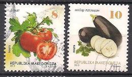 Mazedonien  (2013)  Mi.Nr.  678 + 679  Gest. / Used  (7ba31) - Mazedonien