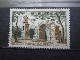 VEND BEAU TIMBRE DE FRANCE N° 1130 , HAUT DE L ' ARCHE VERT !!! - Errors & Oddities