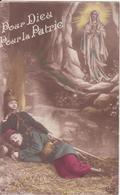 CP - Pour Dieu Pour La Patrie - Guerre 1914-18