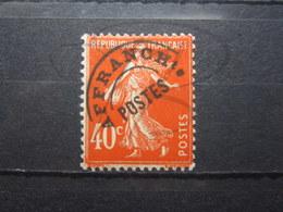 VEND BEAU TIMBRE PREOBLITERE DE FRANCE N° 64 , X !!! - 1893-1947