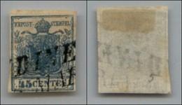 ANTICHI STATI - LOMBARDO VENETO - 1850 - 45 Cent (10) - Usato (90) - Postzegels