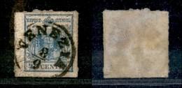ANTICHI STATI - LOMBARDO VENETO - 1855 - 45 Cent (12) - Usato (90) - Postzegels