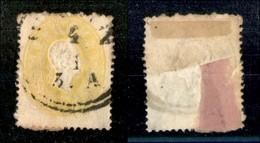 ANTICHI STATI - LOMBARDO VENETO - 1861 - 2 Kreuzer (17) - Usato A Bolzano - Postzegels