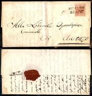 ANTICHI STATI - LOMBARDO VENETO - 15 Cent (20) Su Lettera A Belluno A Auronzo Del 29.4.56 - Postzegels