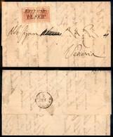 ANTICHI STATI - LOMBARDO VENETO - 15 Cent (20) - Due Pezzi Su Lettera Da Belluno A Venezia Del 12.2.55 - Indirizzo Ritag - Postzegels