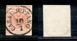 ANTICHI STATI - LOMBARDO VENETO - Casalbuttano (pti 4) - 15 Cent (20) - Usato - Postzegels