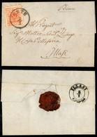 ANTICHI STATI - LOMBARDO VENETO - 15 Cent (20) - Letterina Da Este A Illasi Del 21.1.58 - Postzegels