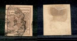 ANTICHI STATI - LOMBARDO VENETO - 1855 - 30 Cent (21) Usato (35) - Postzegels
