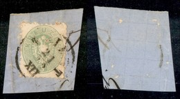 ANTICHI STATI - LOMBARDO VENETO - 1863 - 3 Kreuzer (28) Su Frammento Da Trieste - Postzegels
