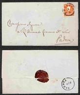 ANTICHI STATI - LOMBARDO VENETO - 5 Soldi (30) Su Lettera Da Treviso A Padova Del 2.6.60 (40) - Postzegels