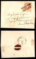 ANTICHI STATI - LOMBARDO VENETO - 5 Soldi (33) - Letterina Da Belluno A Pieve Di Cadore Del 23.8.61 - Postzegels