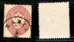 ANTICHI STATI - LOMBARDO VENETO - 1863 - 5 Soldi (38) Usato A Badia (60) - Postzegels