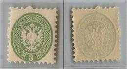 ANTICHI STATI - LOMBARDO VENETO - 1864 - 3 Soldi (42) - Gomma Integra (200) - Postzegels