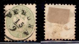 ANTICHI STATI - LOMBARDO VENETO - 1864 - 3 Soldi (42) - Usato (70) - Postzegels