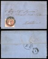 ANTICHI STATI - LOMBARDO VENETO - 5 Soldi (43) Su Lettera Da Sermide A Mantova Del 20.4.65 - Postzegels