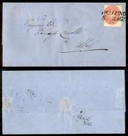 ANTICHI STATI - LOMBARDO VENETO - 5 Soldi (43) - Involucro Di Lettera Da Belluno A Mel - Postzegels