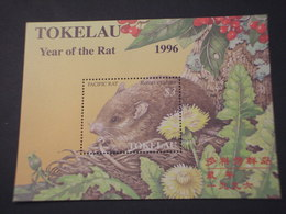TOKELAU - BF 1996 RAT - NUOVO(++) - Tokelau